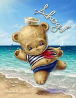 Navy Baby Bear by ScottMonaco