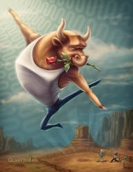 Dancing With The Bull by ScottMonaco