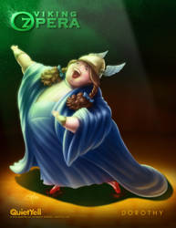 Viking OZpera : Dorothy Gale by ScottMonaco