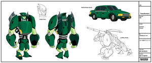 TFA: Autobot Charlie by greenleafcm