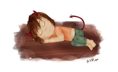 Sleepy evil by Piou-chan33