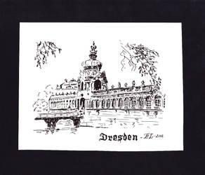 Zwinger - Dresden by Nightwishel