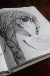 Katniss by violetstory
