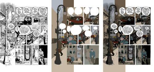 Will Eisner Flats by KeatonKohl