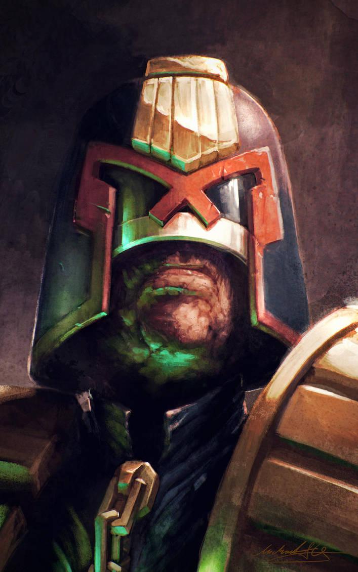 Judge Dredd by MitchGrave