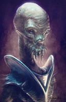 Alien Commander by MitchGrave