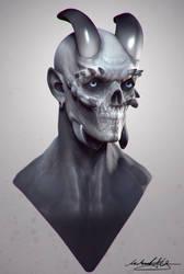 Silent Demon by MitchGrave