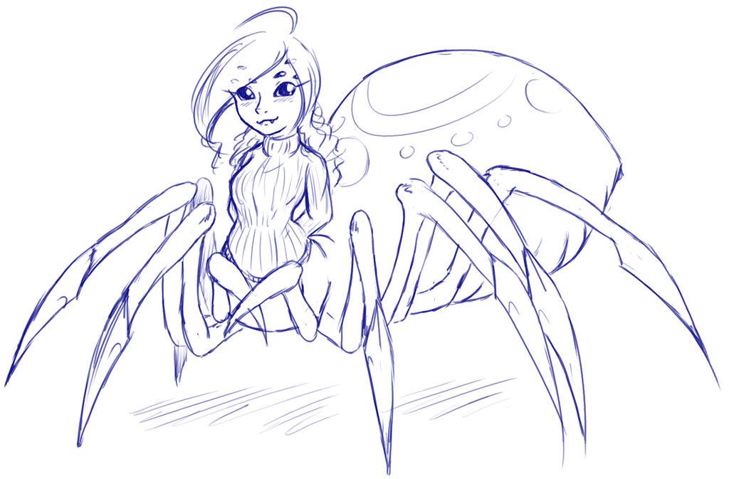 Lucy Spider by LukkiStarr