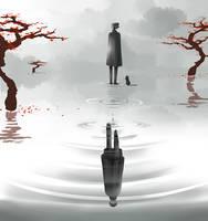 Mirrored Worlds by SpiltTea