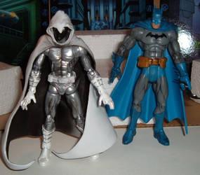 Moon Knight and Batman by HSQ-Vision