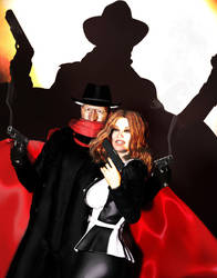The Shadow and Margo Lane by Widfara