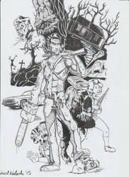 Evil Dead 2 Tribute by vincoboy