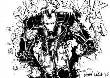 Iron Man tribute by vincoboy