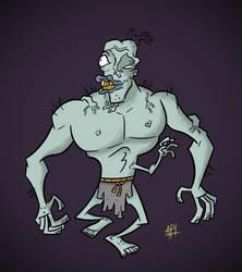 Frankenstein's Monster by FriedMonkey