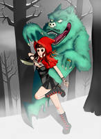 Little Red Riding Hood by BlackRamu