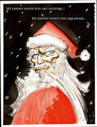 Santa - Merry Christmas! by GilTriana