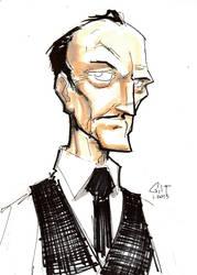 DSC 012813 - Alfred Pennyworth by GilTriana