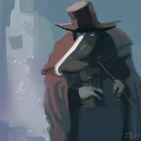 Plague Doctor by Allan-P