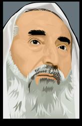 Sheikh Ahmed Yassin by artstuck