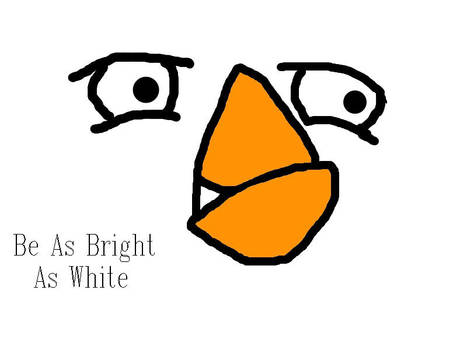 Angry Birds: white bird by JJflores69