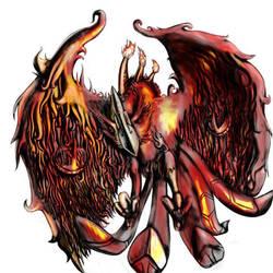 Fire Bird by pschosilver