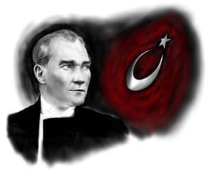 Mustafa Kemal by pschosilver