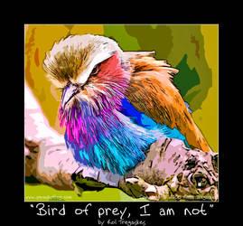 Bird of prey I am not by koltregaskes