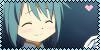 PMMM - Sayaka Miki Fan Stamp by PurelyWhiteButterfly