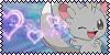 Minccino Fan Stamp by PurelyWhiteButterfly