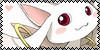 Kyuubey Fan Stamp by PurelyWhiteButterfly