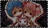 Puella Magi Madoka Magica Stamp by PurelyWhiteButterfly