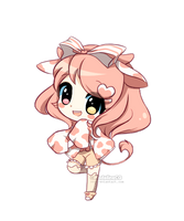Milkie-Chibi [com] by MadelineCG