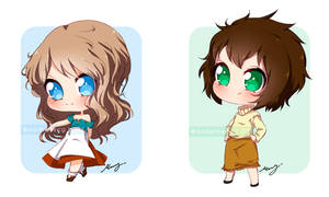 Chibi [com] Batch - 2 by MadelineCG