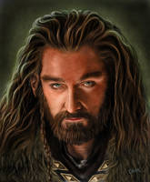 Thorin Oakenshield by Omar-Atef