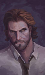 Bigby - The Wolf Among Us by Omar-Atef