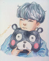 Yoongi x Plushie by maplemin
