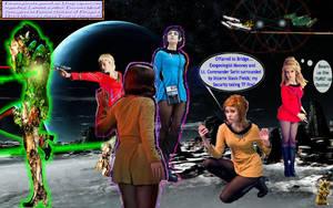 Where No Woman Has Gone... (Page One) by staregazerrod