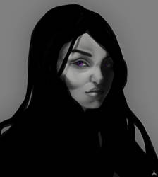 Yennifer's Portrait by AH-Adonneniel