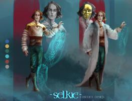 SELKIE Custom Design by AH-Adonneniel