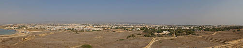 Pafos panorama from Lighthouse by n-John