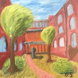 Schoolyard by darioseyb