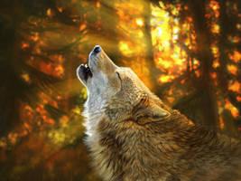 Autumn Spirit by Midnight-Sun-Art