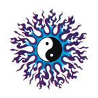 Blue Flame Yin Yang by RaeaSolvara