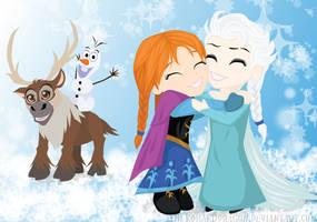 Frozen by TheKohakuDragon