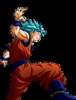 Goku SSGSS TOYOTARO by AlejandroDBS