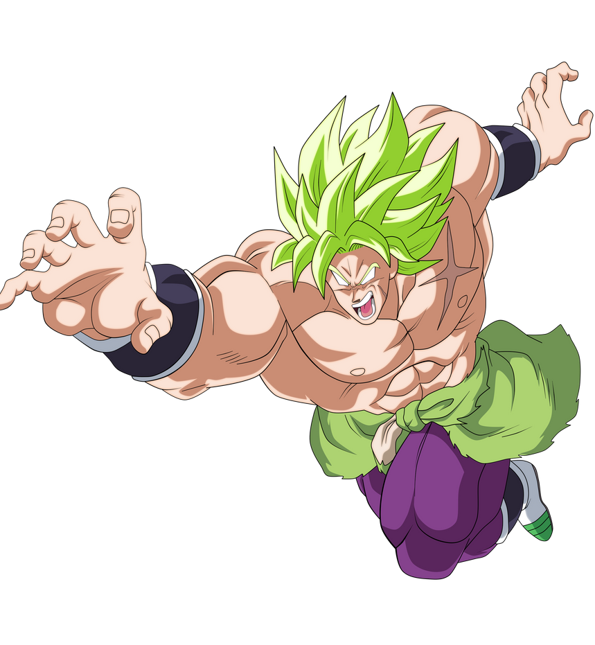 Dragon Ball Broly Full Movie: BROLY FULL POWER DRAGON BALL SUPER BROLY By AlejandroDBS