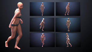 Female Pose Reference by inspiring-references