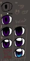how zaiqukaj colors eyes by zaiqukaj