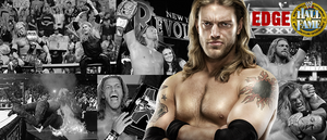 WRESTLING BANNERS: 3. Edge by CreamCrazy