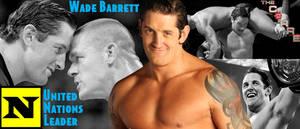 WRESTLING BANNERS: 11. Wade Barrett by CreamCrazy